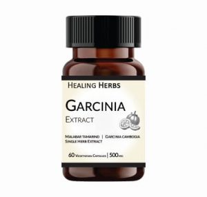 Garcinia Extract 500 mg Capsules, 60 Capsules in PET 150 cc Amber coloured bottle