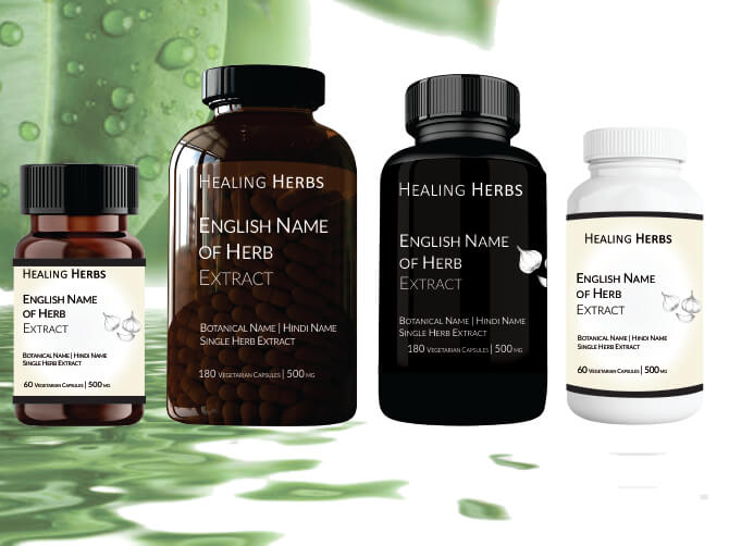 Single Herb Extracts in Capsules & Tablets