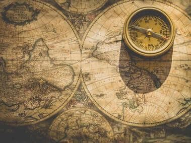 Map adn Compass