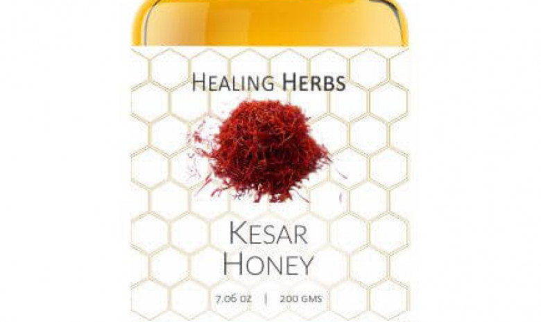 Honey with Kesar