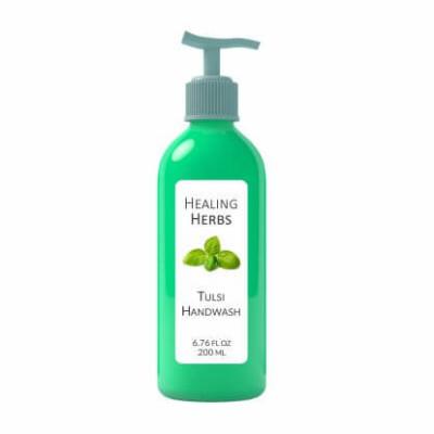 tulsi handwash 100% natural gentle handwash