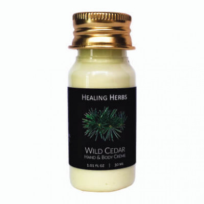wild cedar hand and body creme for Spas & Hotels