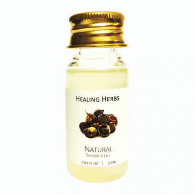 Natural shower gel and bosy wash enriched with herbs for Spas & Hotels