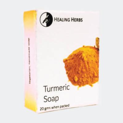 turmeric handmade soap for spas & hotels