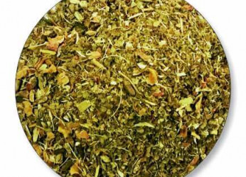 Mint herbal loose tea available in tea bags