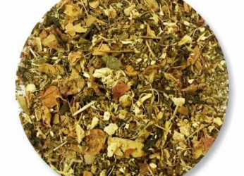 Tulsi based natural tea with green tea