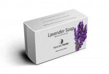 Lavender Essential oil enriched Vegetarian Handmade Glycerine Soap