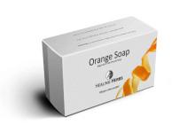 Orange Handmade Vegetarian Glycerine Soap